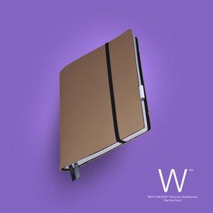 Image of Whitebook Soft S209, Veaux Prestige, Café au Lait, 240p. (fits iPad / Air / Mini / Samsung)