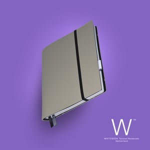 Image of Whitebook Soft S210, Veaux Prestige, Gris Perle, 240p. (fits iPad / Air / Mini / Samsung)