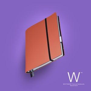 Image of Whitebook Soft S214, Veaux Prestige, Orange Hermes, 240p. (fits iPad / Air / Mini / Samsung)