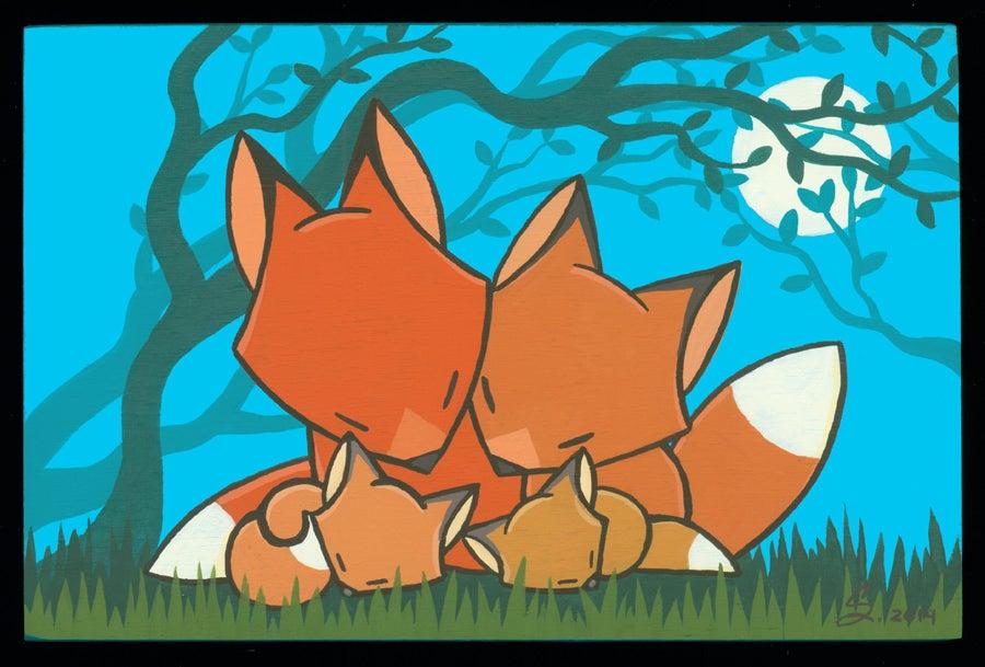 Image of Fox Family