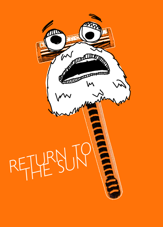Image of 501 T-Shirt (Orange)