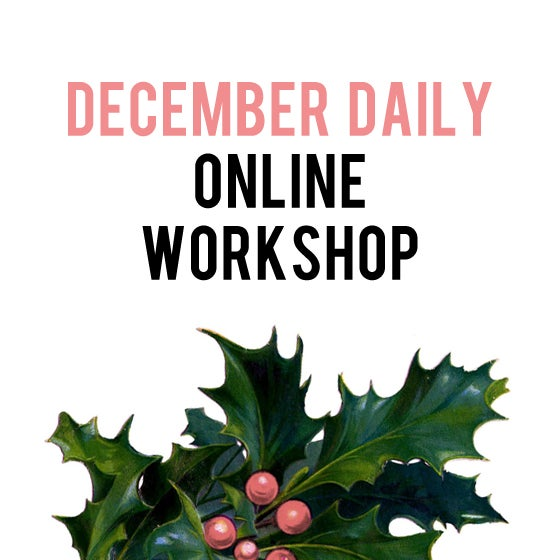 Image of December Daily Online Photography Workshop