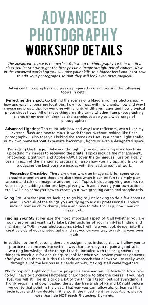 Image of Photography Bundle Online Workshops