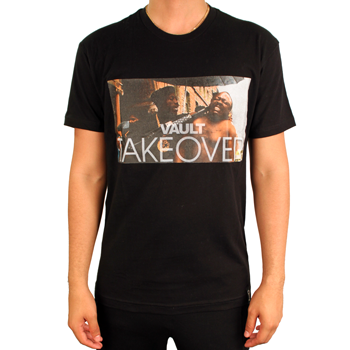 Image of Vault Takeover Tee (Black)