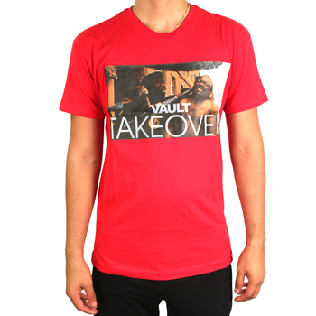 Image of Vault Takeover Tee (Red)