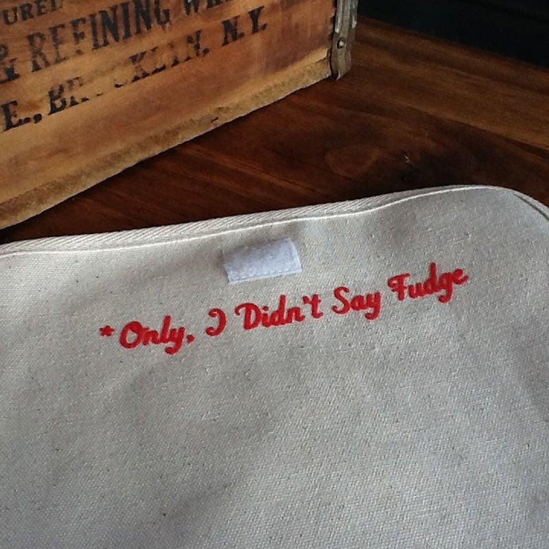 "Image of ""Oh Fudge"" Congress Bag"