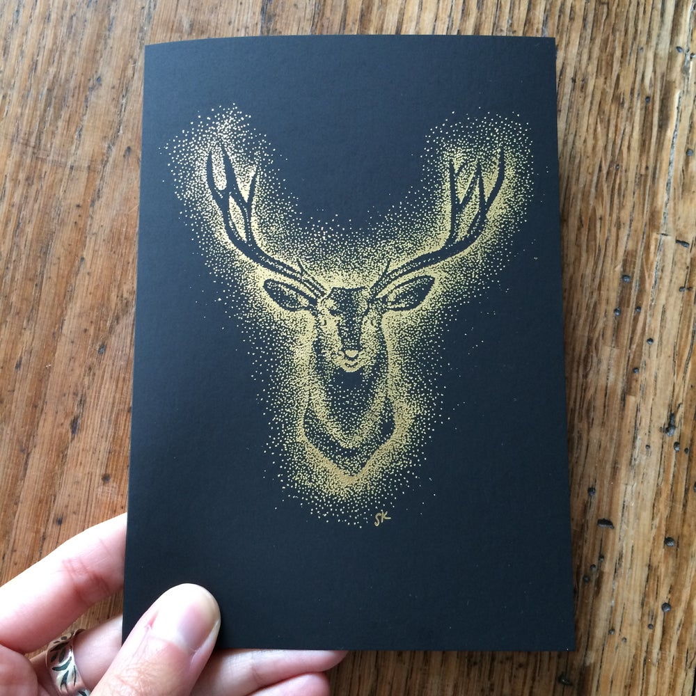 Image of Stag card