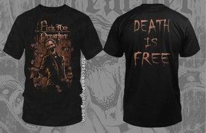 """Image of Pick Axe Preacher """"Gangster Preacher T-Shirt"""""""