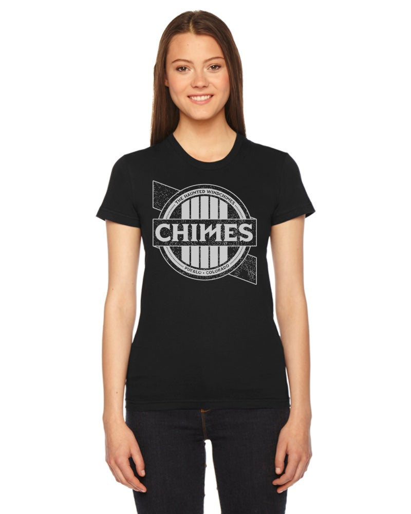"Image of ON SALE! Haunted Windchimes: ""Chime"" T-Shirt (Girls)"