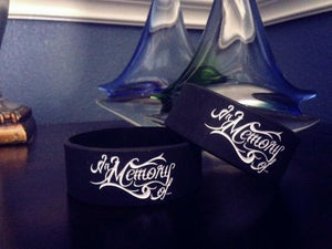 Image of In Memory Of... Logo Wristbands