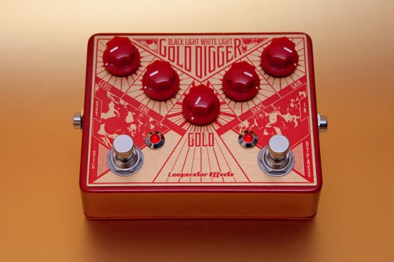 Image of Gold Digger fuzz pedal w/ Gold Into Dreams Inside for download