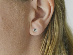 Image of Small Moon Studs