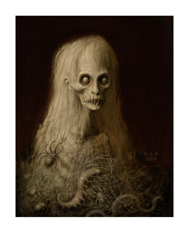 """Image of """"The Pale Thing"""" Limited Edition print"""