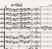 Image of G-FORCE - Big Band version