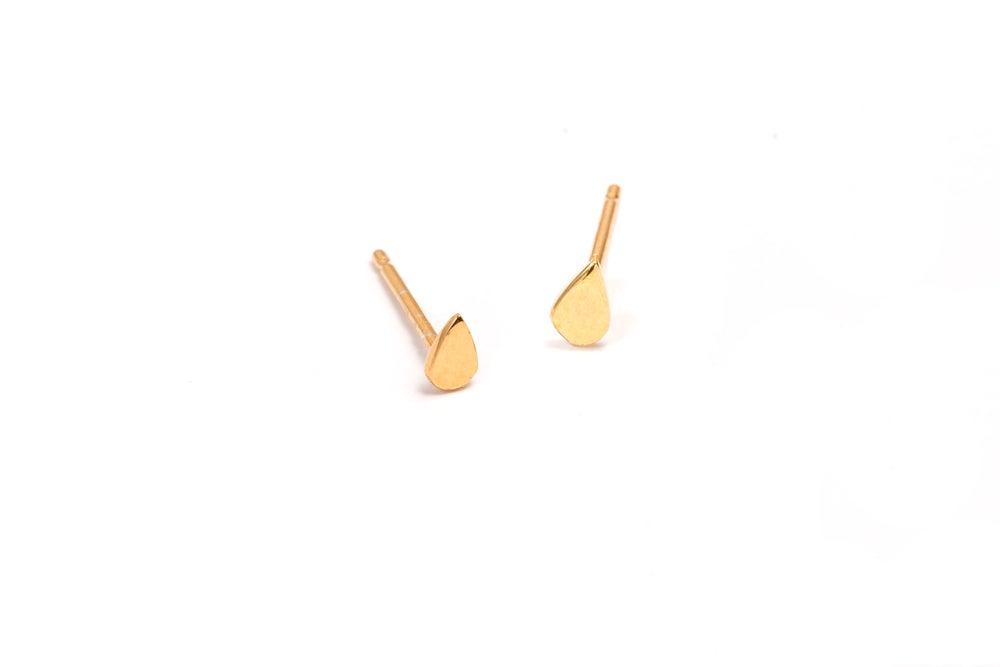 Image of ANNABELLE TEARDROP STUD EARRINGS