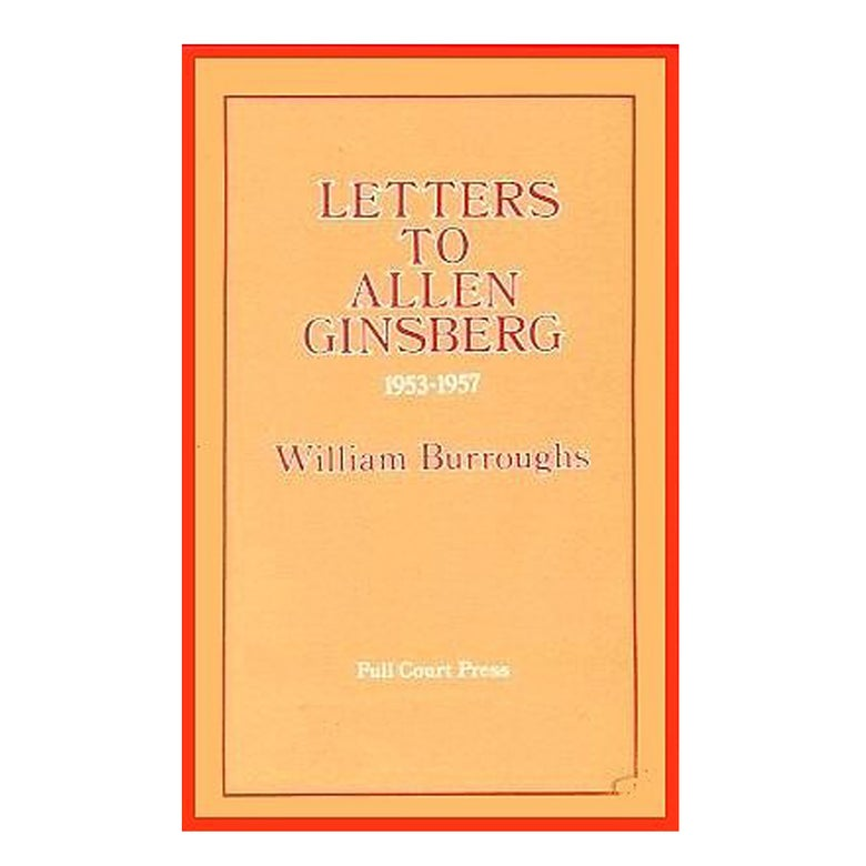 Image of Allen Ginsberg - Letters to Allen Ginsberg