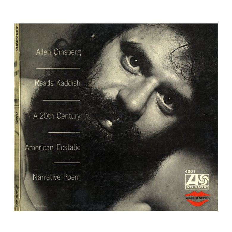 "Image of ""Allen Ginsberg Reads Kaddish"" CD"