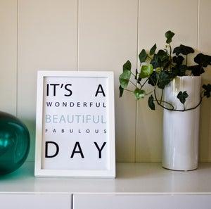 Image of Print / Plakat Beautiful day