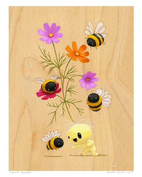 """Image of """"Cosmo Bumble"""" Giclee Print"""