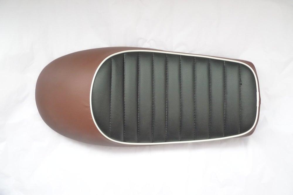 Image of Honda CG125 Seat - 2 Tone Series