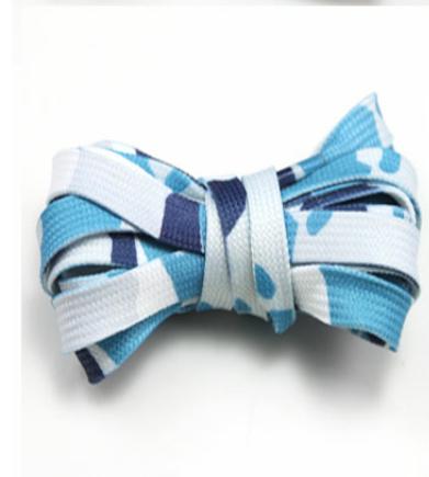 "Image of Exclusive ""Military Blue/Camo"" LE Custom Laces"