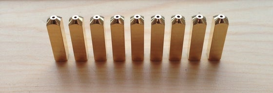 Image of Gold/Silver Aglets (Lacetips)