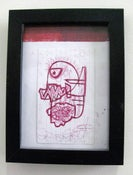 Image of  MJL Framed 'Red Harring' Drawing
