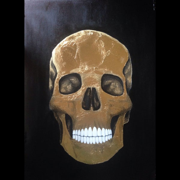"Image of ""Golden Breath"" - Original Artwork"