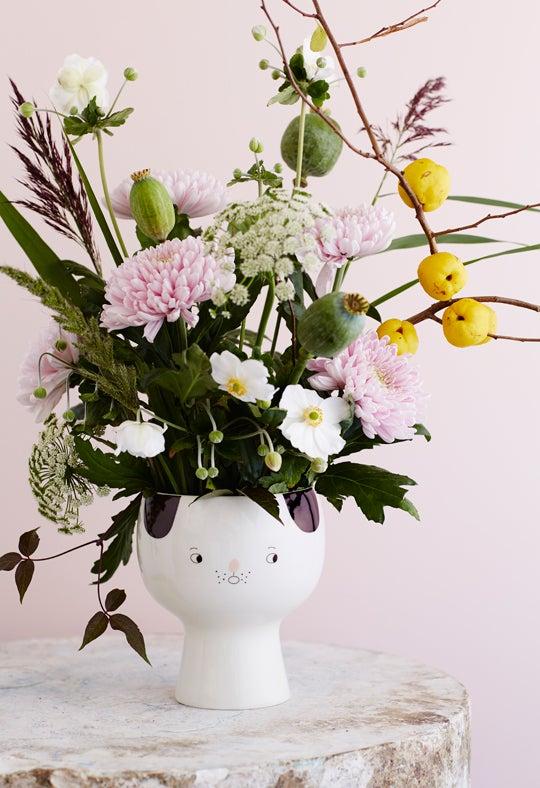 Image of Flower me happy pot - Karl