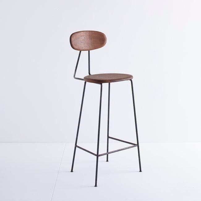 Image of MAR-DEN Bar Stool (Iroko) - £265 + VAT