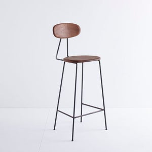 Image of MAR-DEN Bar Stool (Iroko) - £265 + VAT