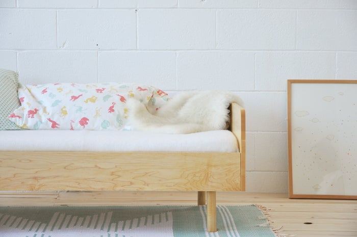 Image of Lit de transition . Bed for the little ones