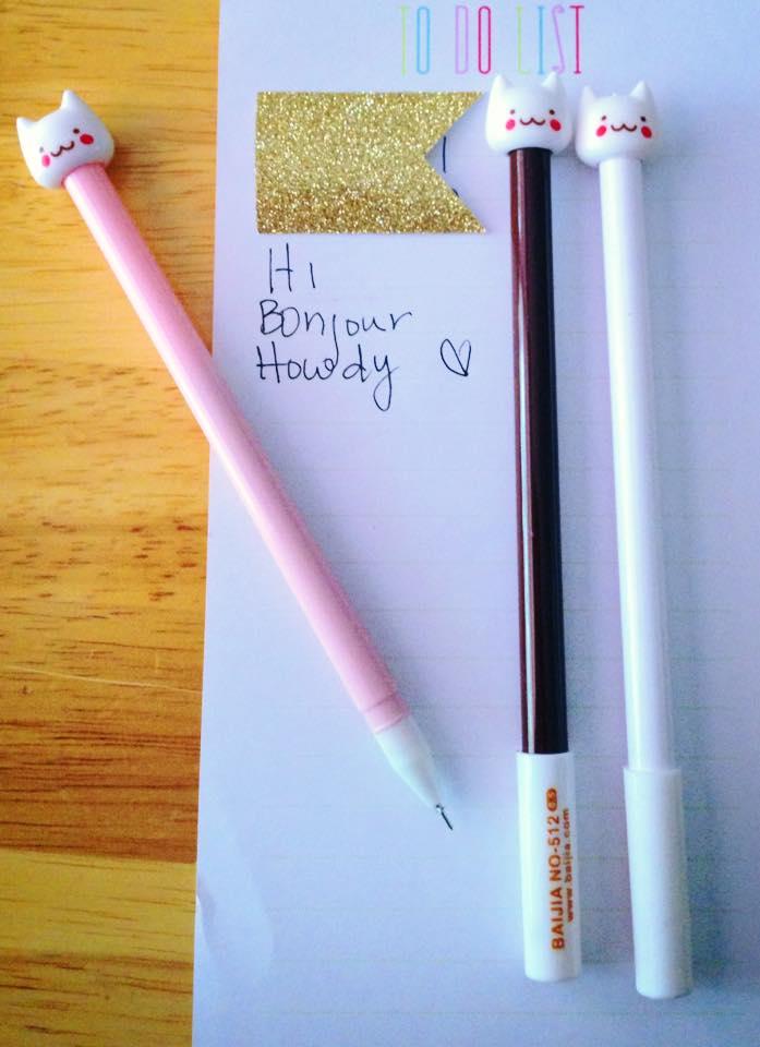 Image of Kitty Kat Pen - Gel Pen