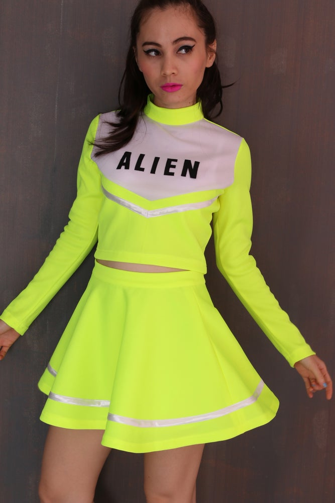 Image of Team Alien Cheerleading Set