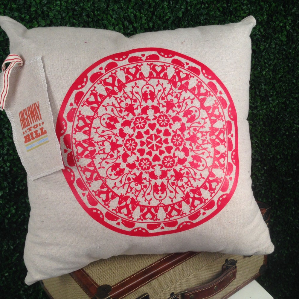 """Image of """"Love"""" Pillow"""