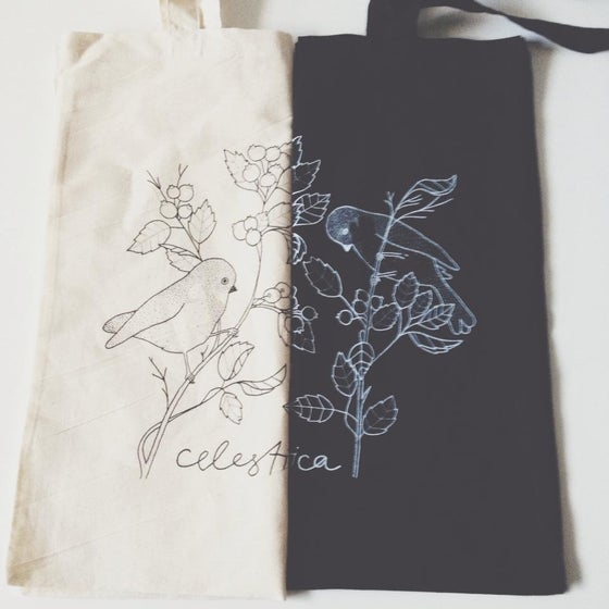 Image of 'BIRDS' - TOTE BAG