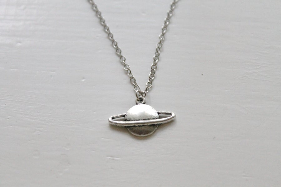 Image of Tiny Planet Necklace