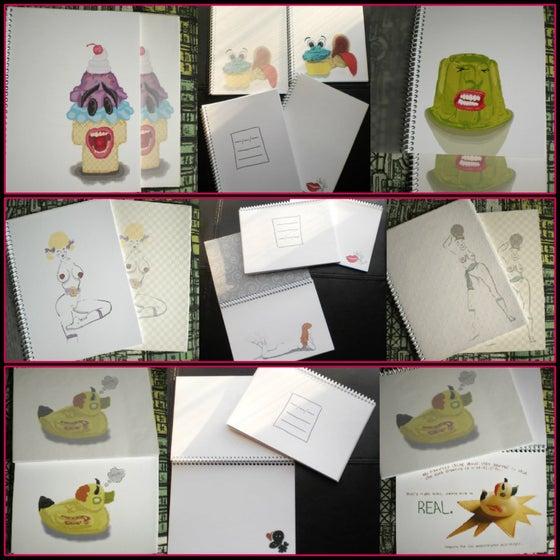 Image of Note/Sketchbooks