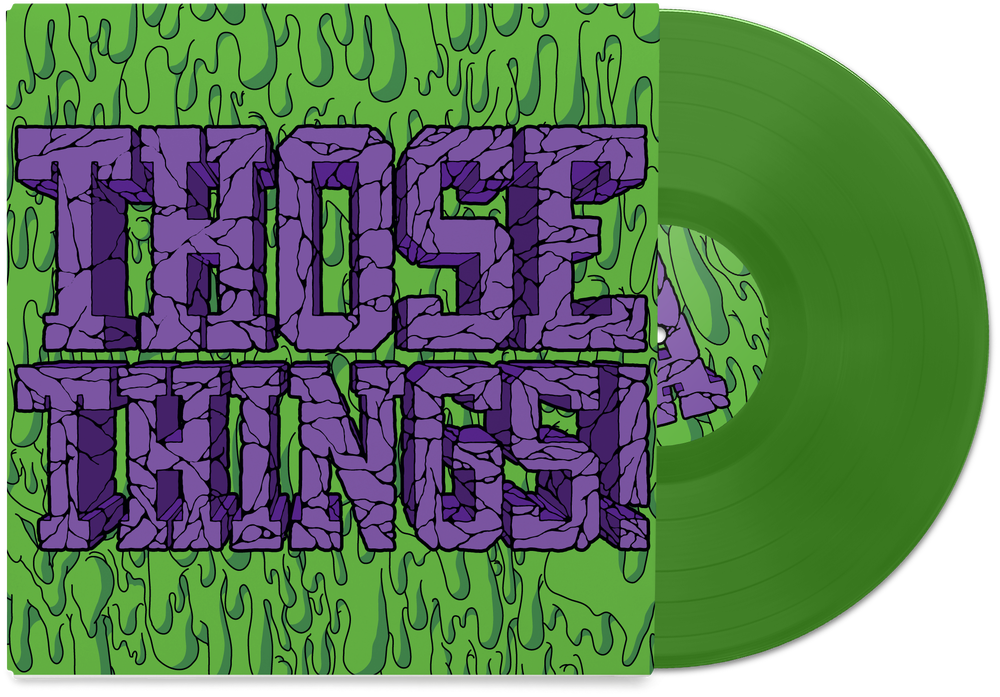"""Image of Those Things! 10"""" Self Titled Vinyl (Transparent Green)"""