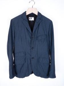 Image of Engineered Garments - Navy Diamond Andover Jacket