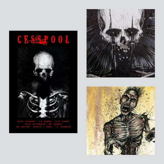 Image of CESSPOOL (With Signed Original Art)