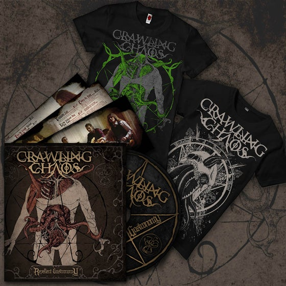 """Image of All- in Bundle """"CD + 2 T- Shirt"""""""