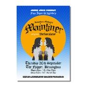Image of MAINLINER / DETHSCALATOR Birmingham Poster (A3)
