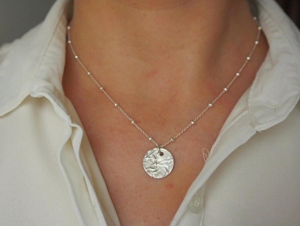 Image of Bambu necklace Sterling Silver