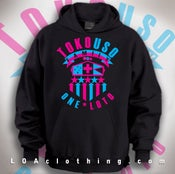 Image of TOKOUSO-ONE LOTO-RETRO HOODIE