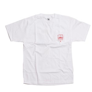 Image of MAY THE WAVE BE WITH YOU WHITE TEE