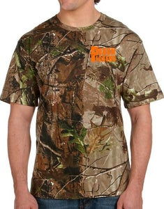 Image of Peach Pickers T-Shirt (Camo)