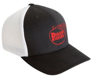 Image of Peach Pickers Hat (Red/Black)