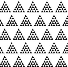 Image of House of Mia organic cotton signature multi-triangle cuffed leggings black