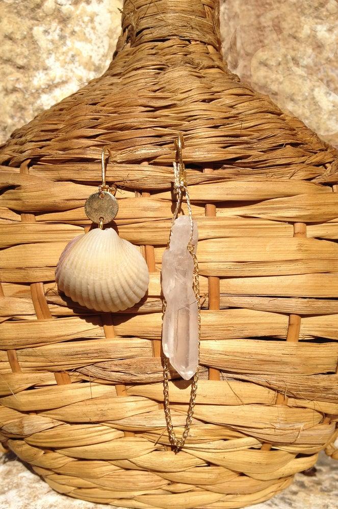 Image of Boucles d'oreilles Grigri-Sète